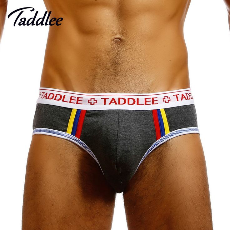 Taddlee Brand Sexy Men Underwear Briefs Bikini Low Waist Designed Men's Underwear Trunks Gay Pouch WJ Man Briefs Cotton #men, #hats, #watches, #belts, #fashion, #style