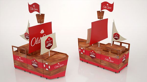 POS Material - Old Spice on Behance