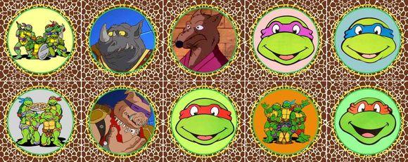 Tartarugas ninja Jogo Da Memória