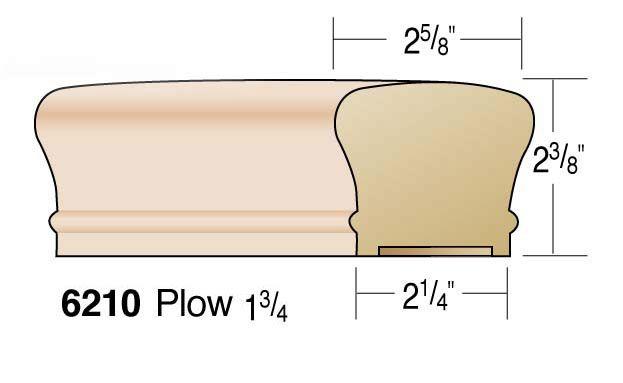 Best Handrail 6210 Series 2 5 8 Home Repair Wood Supply 640 x 480