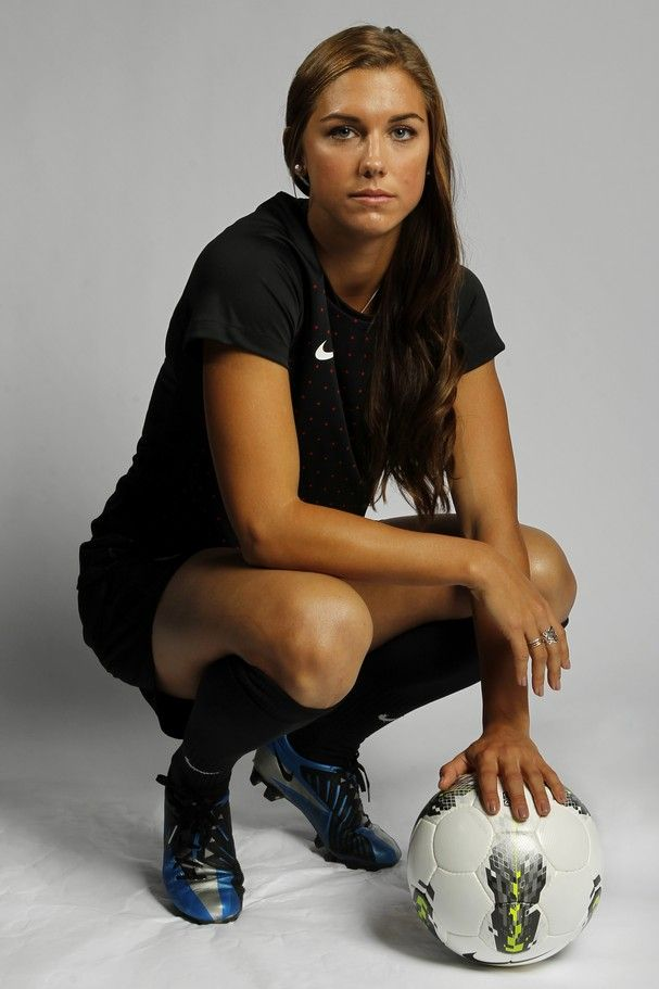 Soccer Player Alex Morgan Poses For A Portrait During The 2012 U S Olympic Team Media Summit