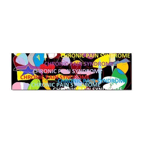 Chronic Pain Syndrome Bumper Sticker