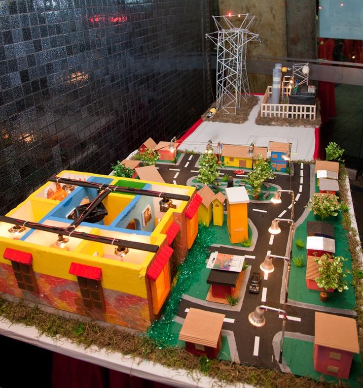 Maqueta de ciudad maquetas pinterest for Proyecto restaurante escolar