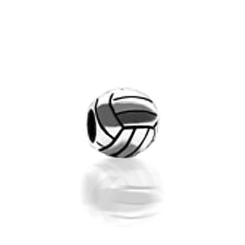 BESTSELLER! Bling Jewelry 925 Sterling Silver Volley Ball Sports Bead Troll Biagi Pandora Compatible $14.99