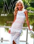 August 2013 Journal Jurnal Zhurnal MOD 569 Russian crochet n knit patterns book