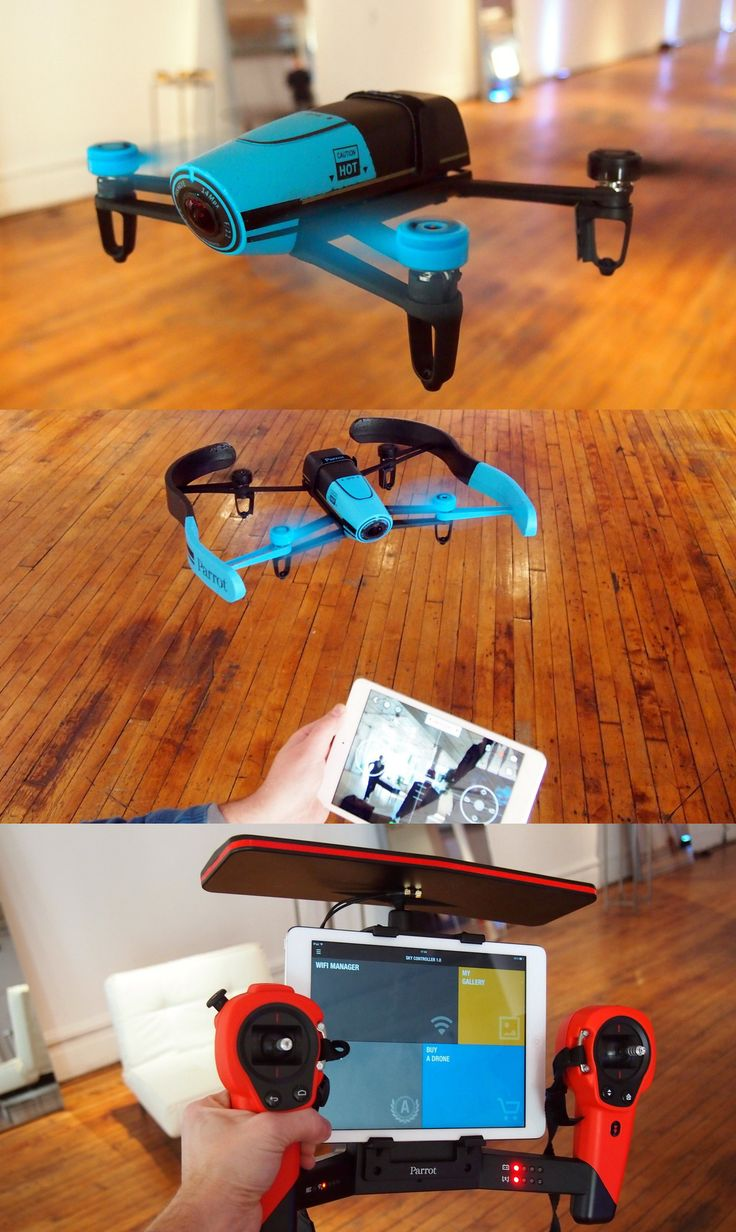The Bebop drone can fly, hover in the air, and take off and land smoothly without assistance. It also has a HD 186-degree camera on its nose so you can capture the world around you.