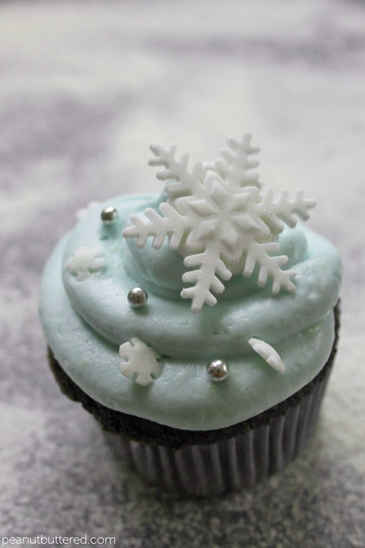 Snowflake Cupcakesposted On November 28 2012 By