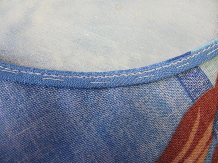 Швейный уголок: Обработка горловины и проймы летних платьев
