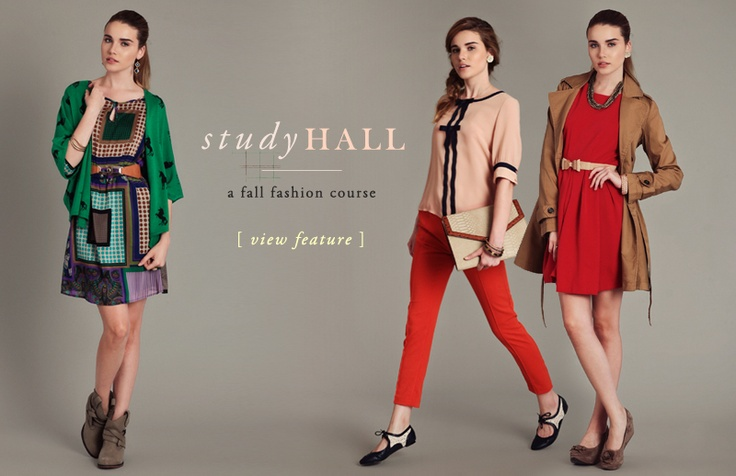 Study Hall: A Fall Fashion Course #backtoschool