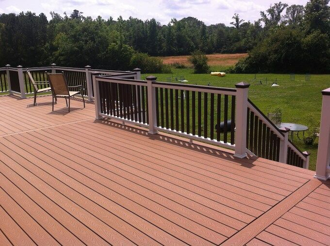 Composite Decking The Best Alternative Yonohomedesign Com In 2020 Building A Deck Deck Building Cost Deck Cost