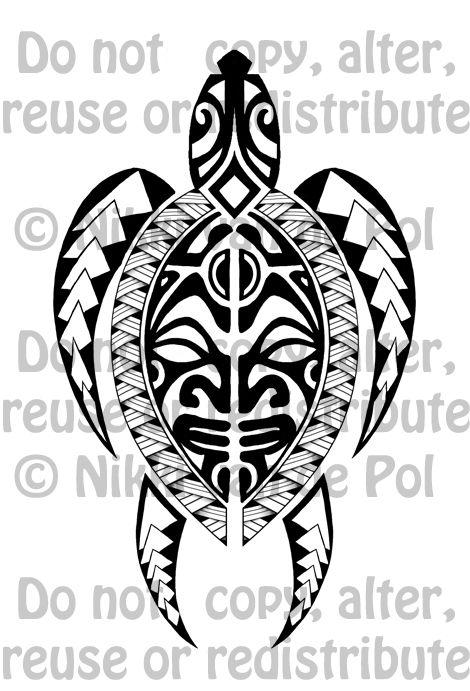Image result for polynesian tortoise tattoo