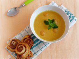 Sárgadinnye-krémleves recept