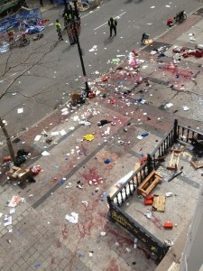 Boston Marathon Bombing, April 15th, 2013