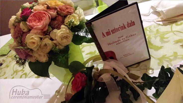 Ajándék esküvőre: Különleges és életre szóló nászajándék: A mi sztorink dala (Melinda és Gábor esküvője)
