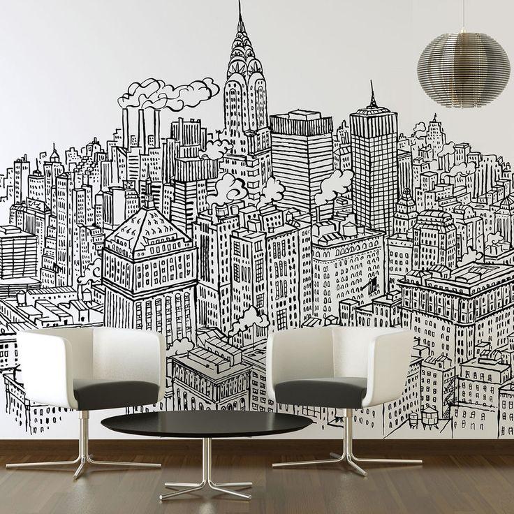 New York Wall Sticker