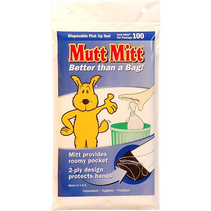 Mutt Mitt Waste Disposal Bags 100 Pack White