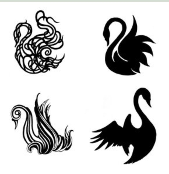 #swan #tattoos the top right one