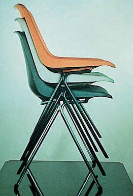 Robin Day stacking chair