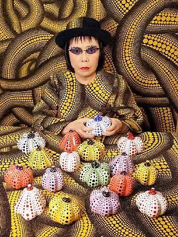 "Yayoi  Kusama, ""Pumpkins"""