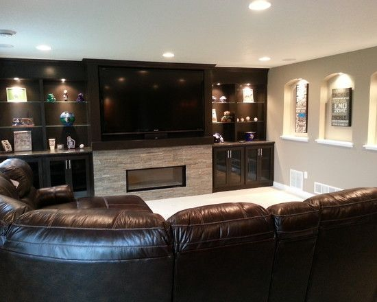 80 inch tv basement - Google Search