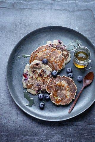 Best Pancake Recipes Shrove Tuesday Alternative Chocolate Blueberry Lemon (Vogue.co.uk)
