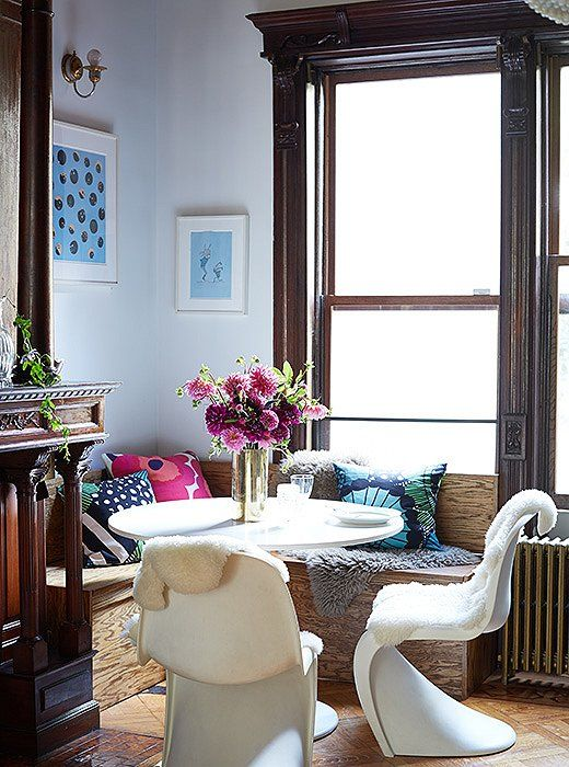 The Peaceful Breakfast Nook Is The Closest Thing To A Formal Dining Space.  Jodie And