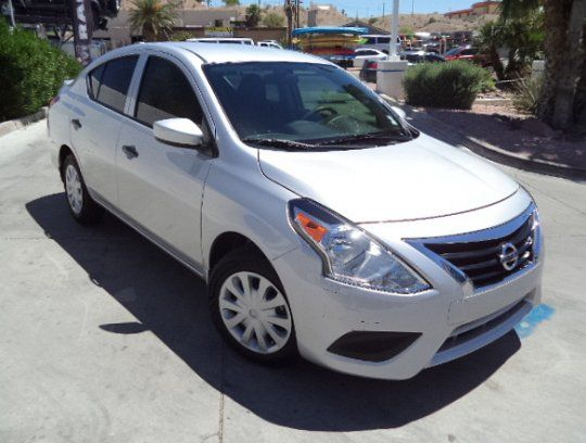 Sedan, 2017 Nissan Versa S with 4 Door in Bullhead City, AZ (86442)