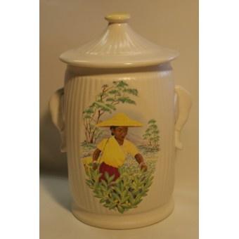 Vintage China Sylvac Tea Caddy £15.95