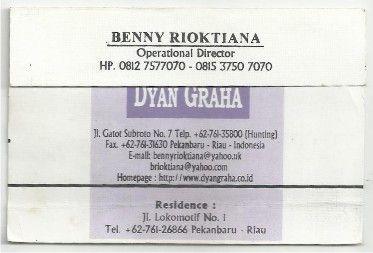Hotel Dyan Graha (Benny)