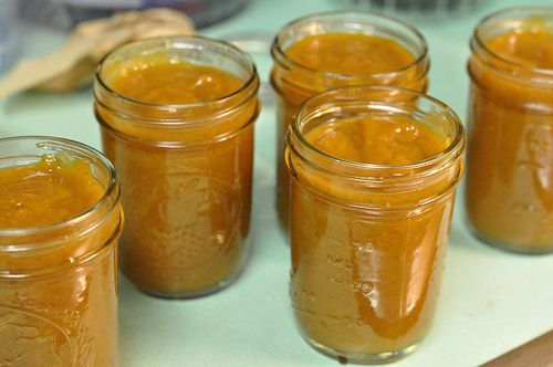 Fruit Butters (peaches, pears, apples)