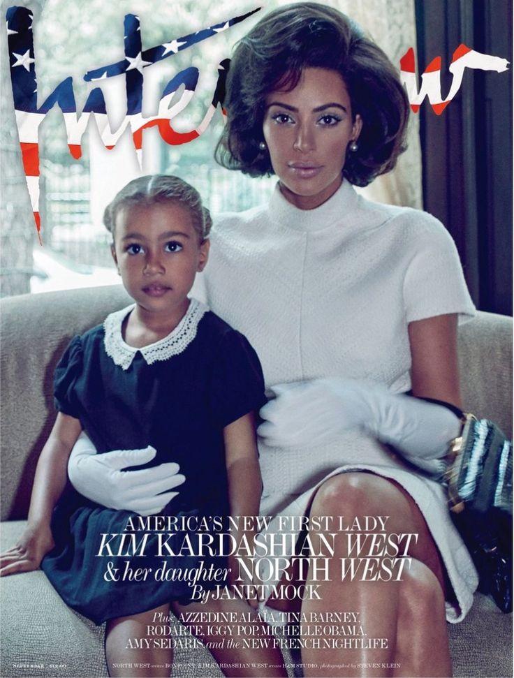 Kim Kardashian on Interview Magazine September 2017 Cover