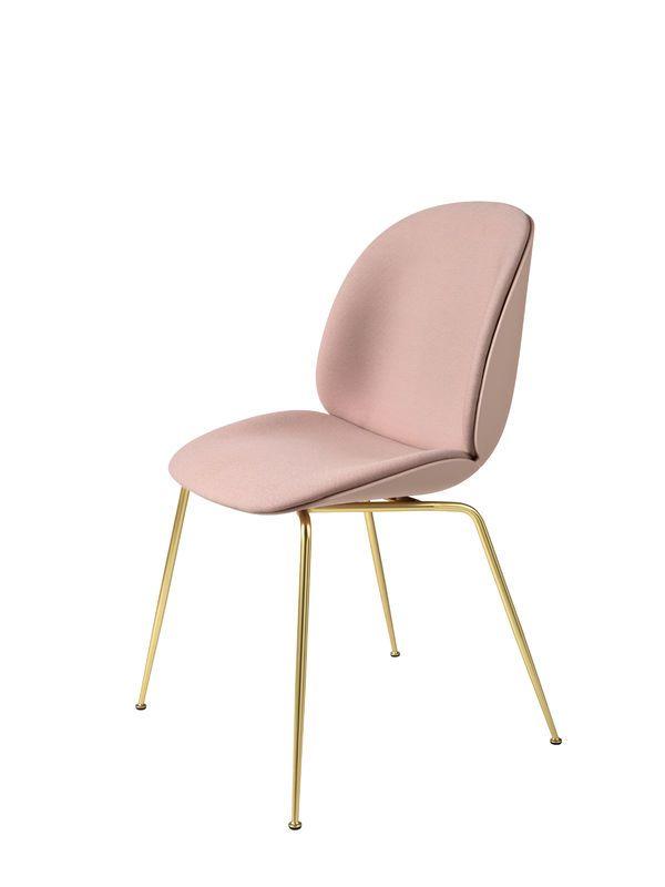 GUBI // Beetle Chair, front upholstered, by GamFratesi