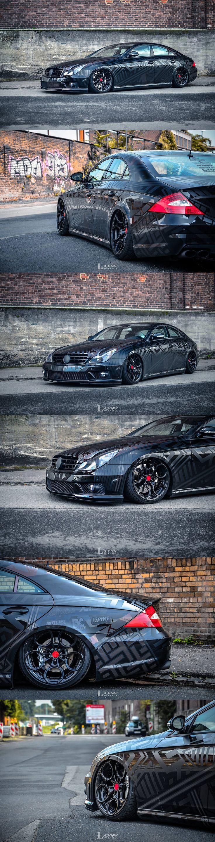Mercedes Benz CLS 55 AMG Dazzle camo