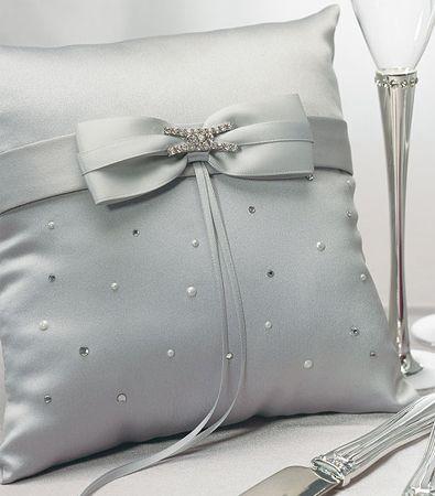 Platinum by Design Ring Bearer Pillow