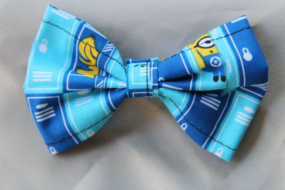 Check out this item in my Etsy shop https://www.etsy.com/listing/248910620/bow-nan-a-minions-clip-on-bowtie-hair