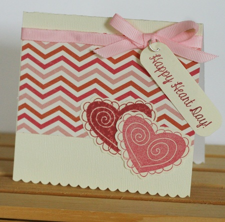 Stamps used: Happy Heart Day. By Tricia Ulberg