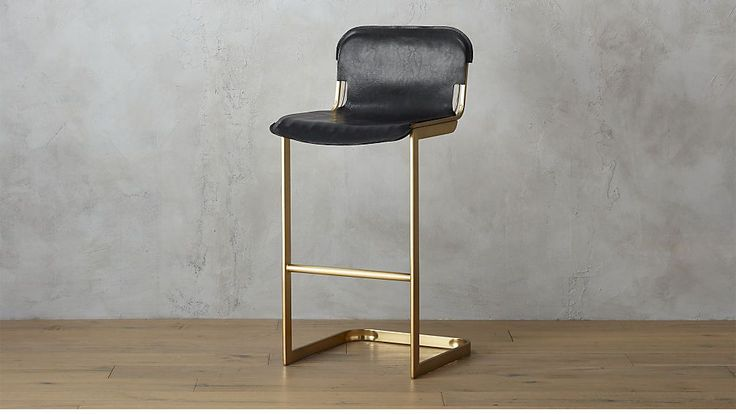 "rake brass 30"" bar stool 