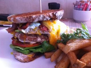 The Sidewalk Dagwood #lunch special #delicious #Vredehoek