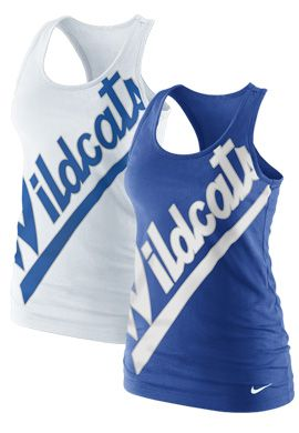 NIKE TEAM SPORTS : University of Kentucky Wildcats Women's Boyfriend Tank Top : University of Kentucky Bookstore