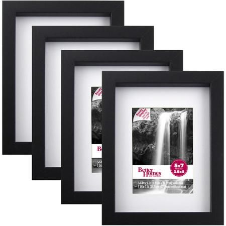 Better Homes And Garden Black   Picture Frames