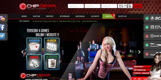 CHIPDEWA, Daftar Poker Online Indonesia