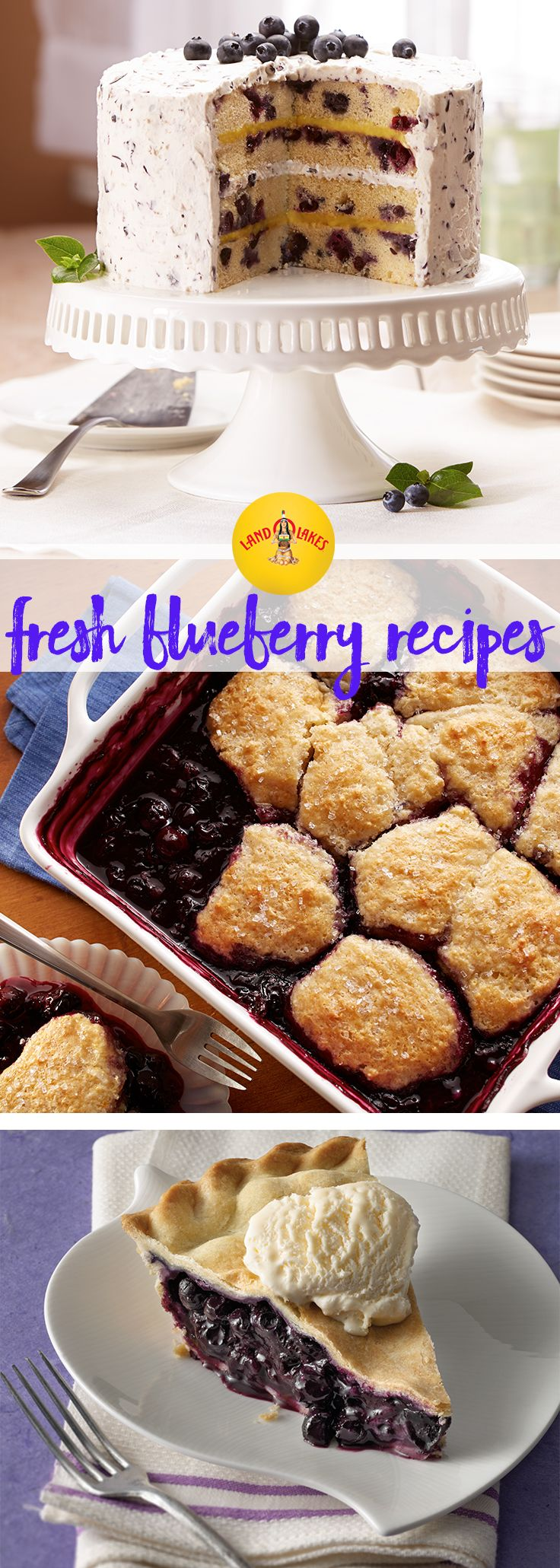 These sweet summer treats made with fresh blueberries are perfect for entertaining, potlucks or labor day weekend festivities.
