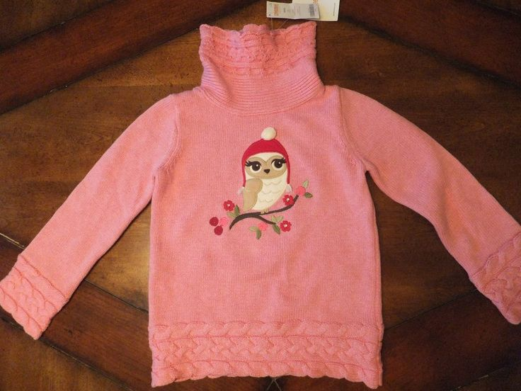 Pink Owl Sweater July 2017
