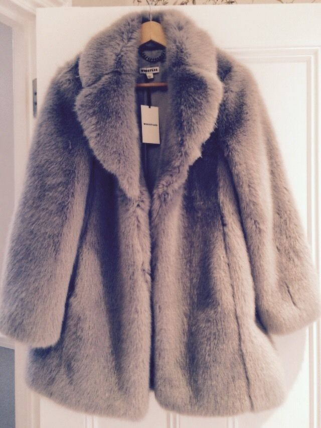 Grey Fur Coat Coat Nj