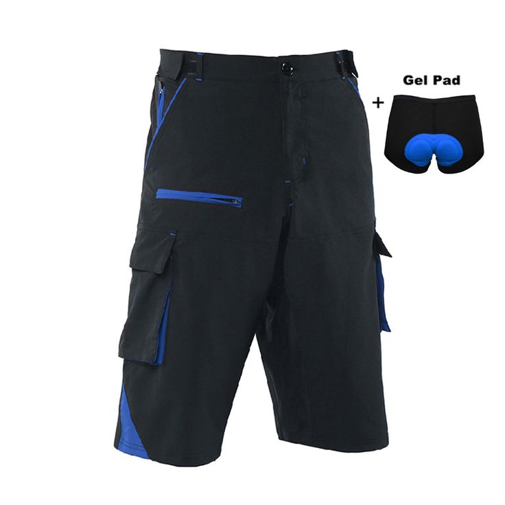 Cycling Shorts Men Downhill MTB Shorts Road Mountain Bike Shorts Outdoor Sports Cycle Short With Gel Underwear #Affiliate