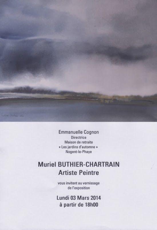 """Exposition maison de retraite """"Les jardins d'automne"""" à Nogent-le-Phaye"""