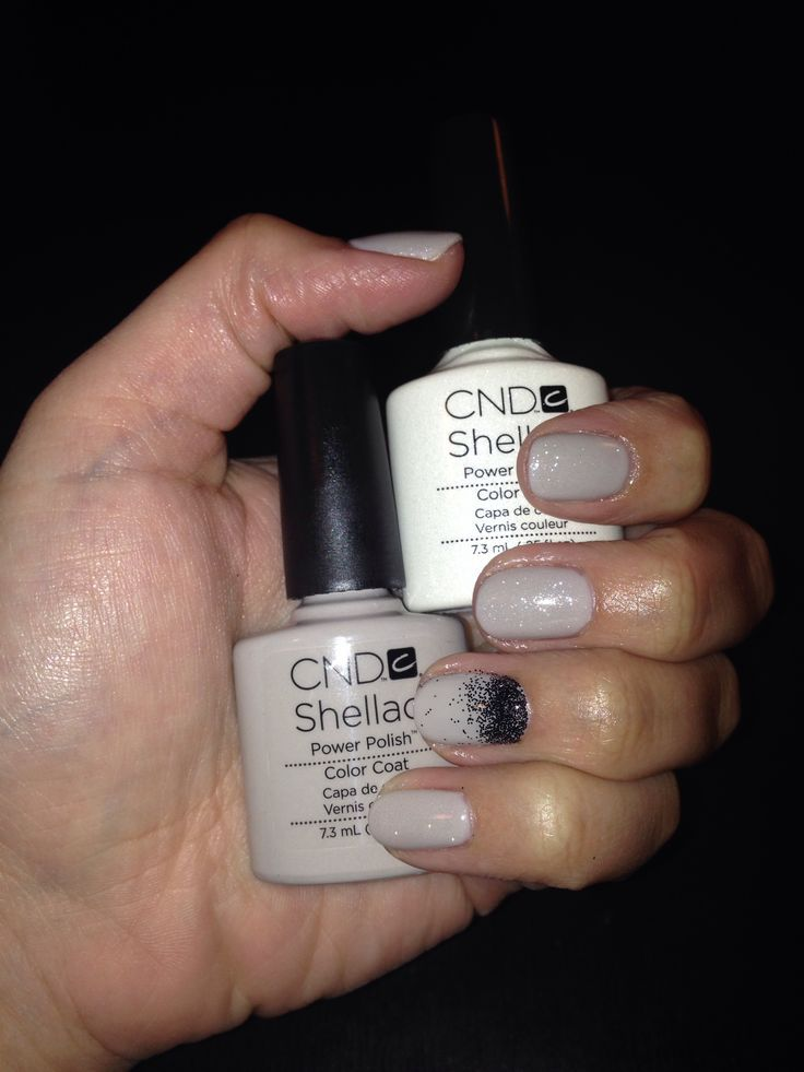 Image result for shellac nail designs light gray