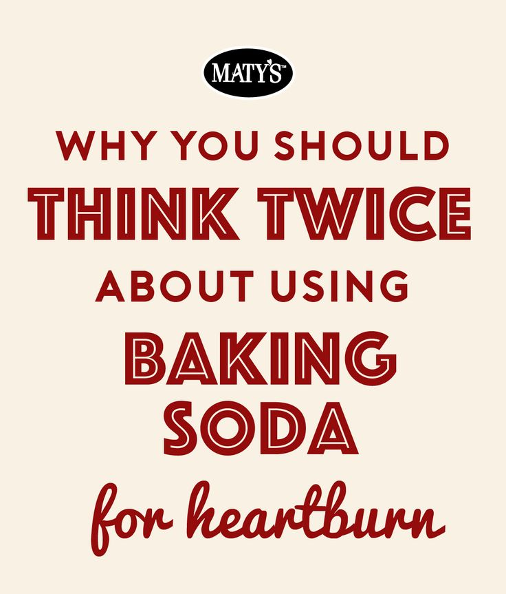 Using baking soda for heartburn, acid indigestion or reflux might seem like a natural cure, but here is why you should think twice about using it. Plus, a natural remedy you should try.