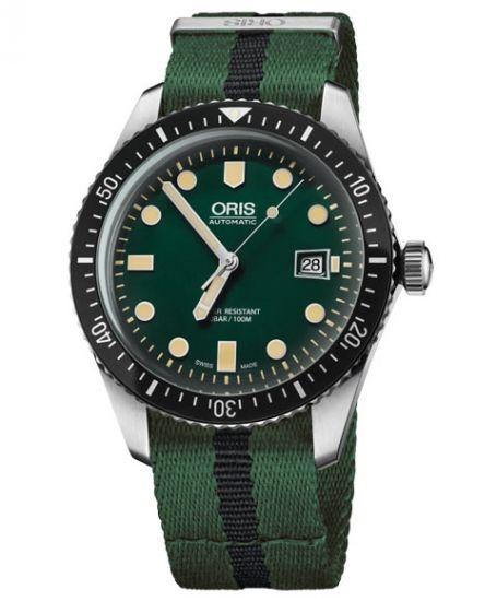 オリス ダイバーズ65 733 7720 4057DGR (NATOストラップ/グリーン) Oris Divers Sixty Five