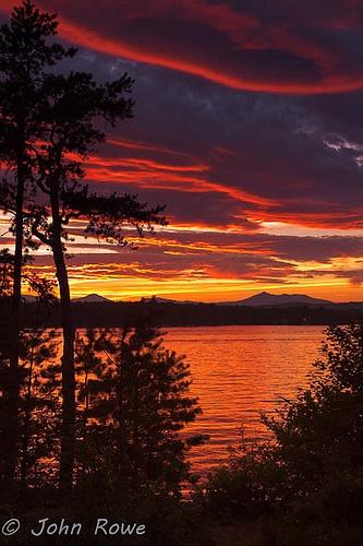 Independance Day Sunset, New Hampshire